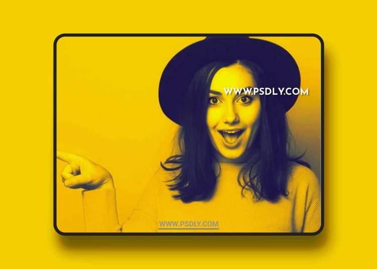 GraphicRiver - Yellow Adjust Photoshop Action 21218653