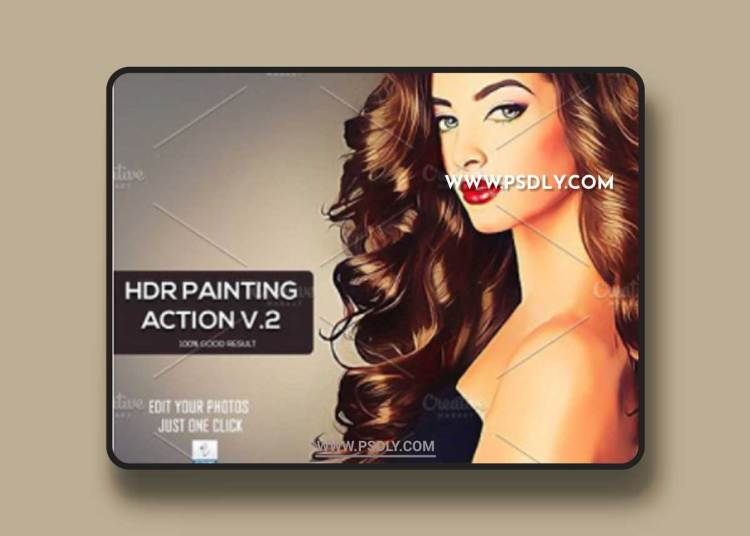 HDR Painting v2 Photoshop Action