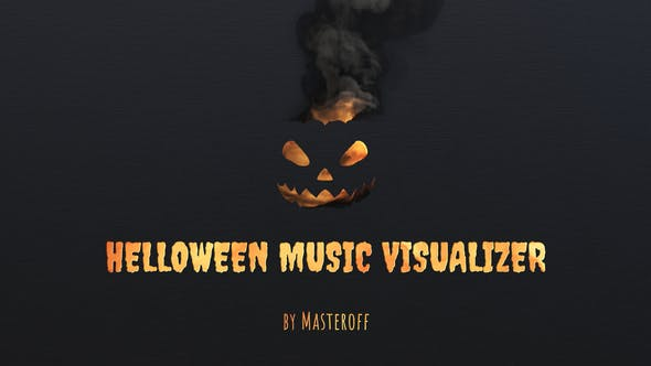 Videohive Halloween Music Visualizer 33957632