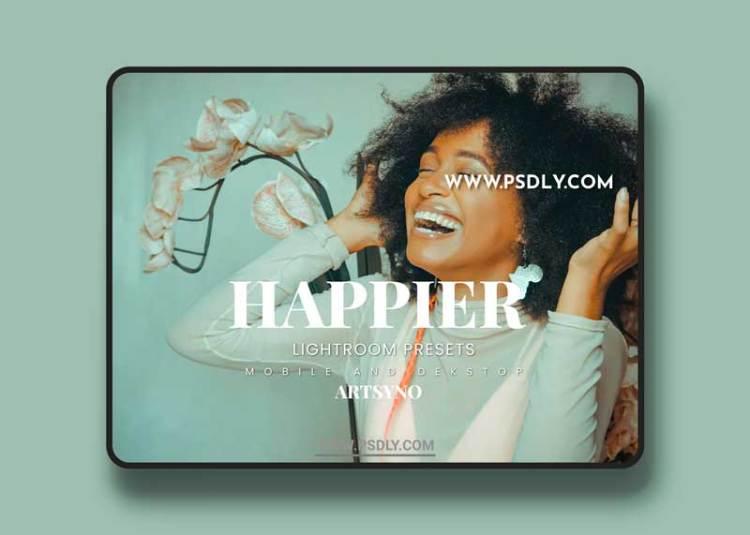 Happier Lightroom Presets Dekstop and Mobile