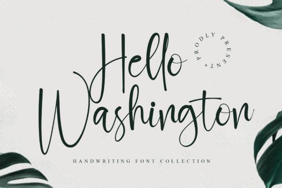 Hello Washington Font
