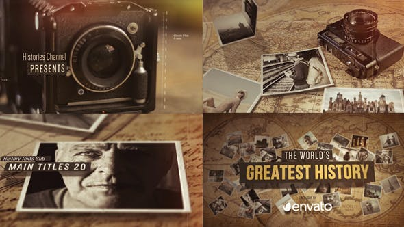Videohive History Of The World Through Lenses 20469021