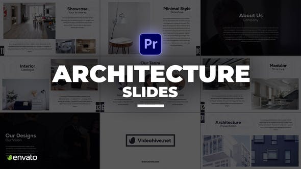 Videohive - Architecture Presentation Premiere Pro - 33672901
