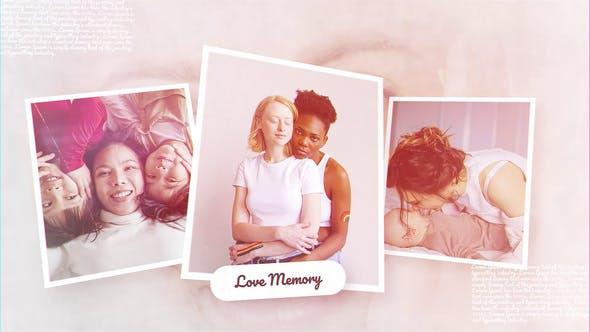 Videohive Love Memory 33707844