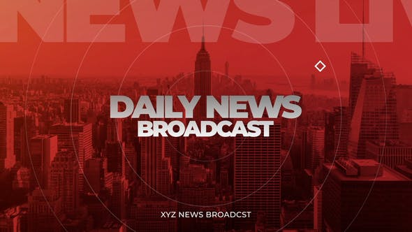 Videohive Daily News Opener 33737278