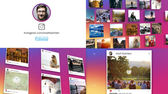 Videohive The Instagram Promotion 21393618