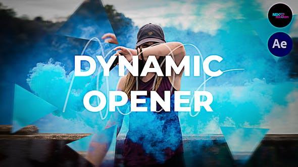Videohive Dynamic Opener 33670121