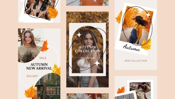 Videohive Autumn Sale Instagram Stories 33733681