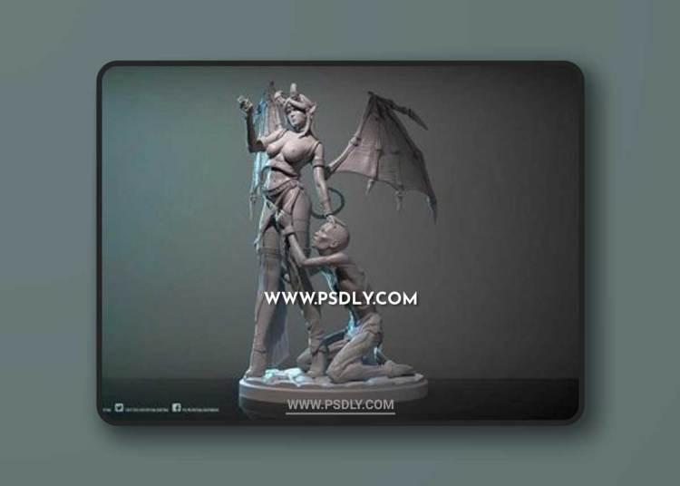 Sarysa – Cruel Lust 3D Models