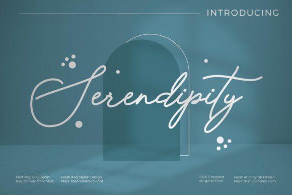 Serendipity Font