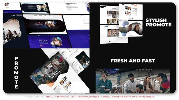 Videohive Smooth Website Promo 33749525