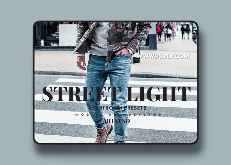 Street Light Lightroom Presets Dekstop and Mobile