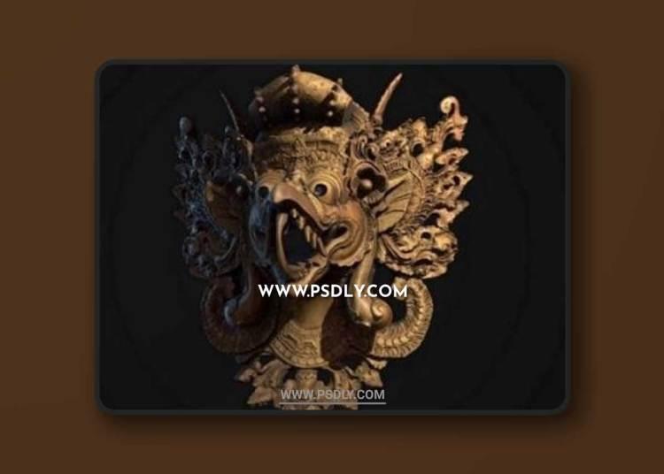 Thailand Mask 3D Model