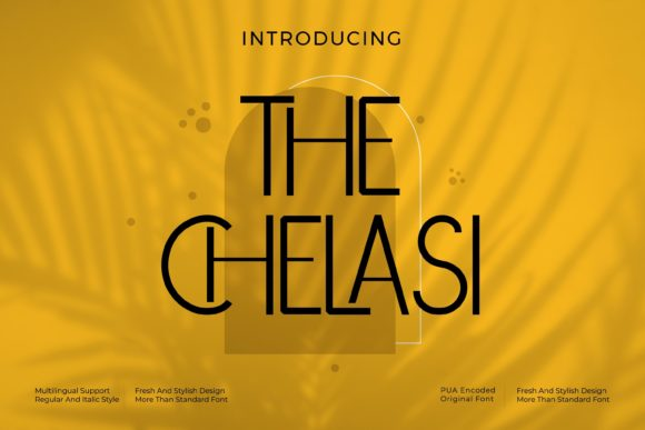 The Chelasi Font