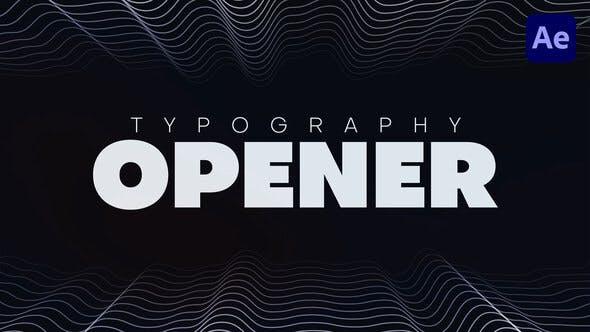 Videohive Typography Promo 33002518