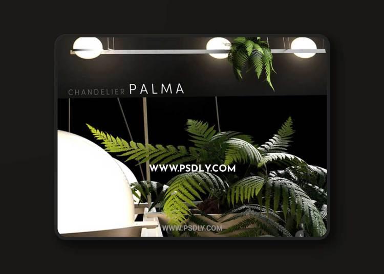 Vibia Palma 3736 3D Model