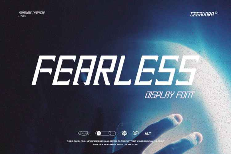 Fearless - Modern Display Font