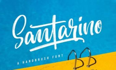 Santarino - Summer Font