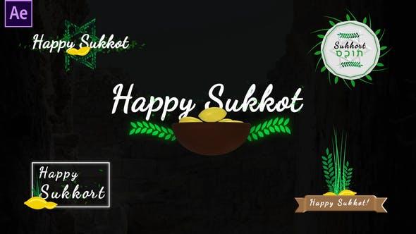 Videohive Sukkot Titles - Jewish Holiday 33737551