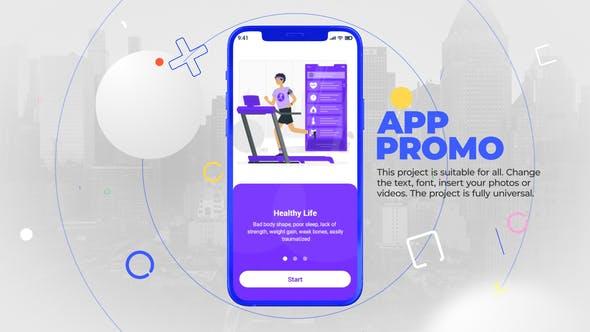 Videohive Stylish phone 13 app promo 33739053