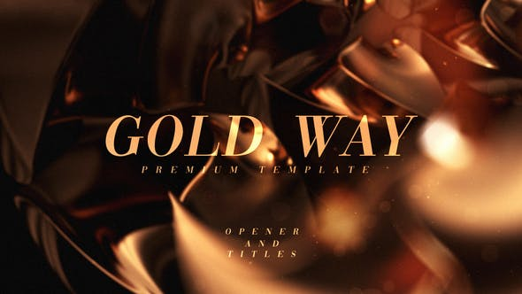 Videohive Gold Way 33907333