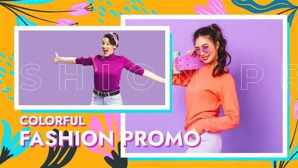 Videohive Colorful Fashion Promo 34202672