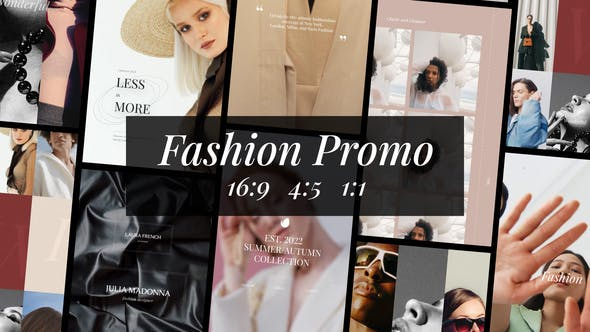 Videohive Fashion Photography Stories and Posts 34145993
