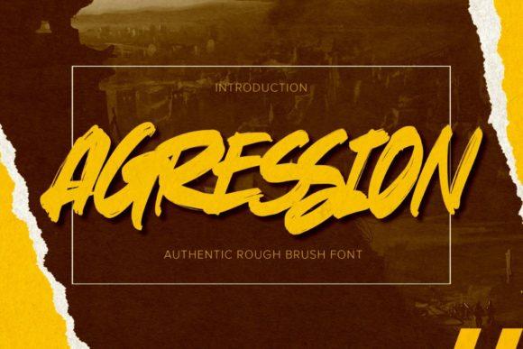 Agression Font