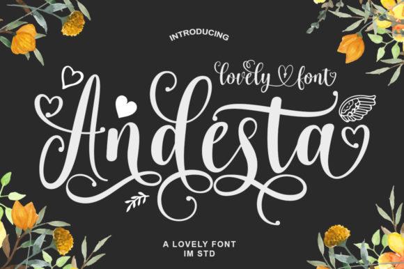 Andesta Font