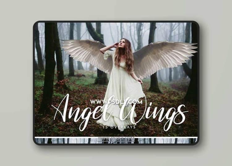 Angel Wings Overlays - 15 Overlays