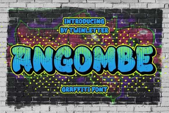 Angombe Font