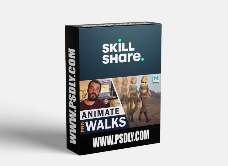 Animate a Professional Looking Walk in Under 2 Hours. Includes polishing!