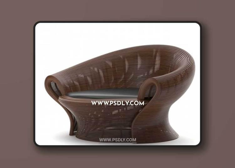 Armchair Steam 23 3D Models