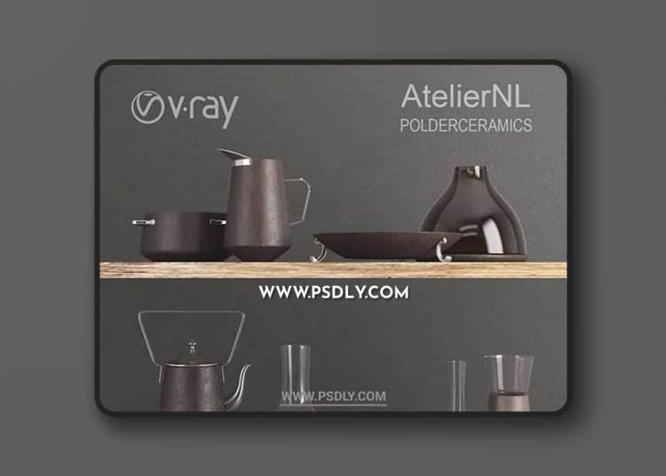 AtelierNL Polderceramics 3D Models