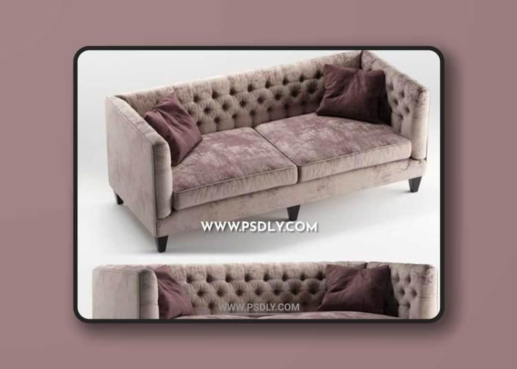 Beckett sofa by Bernhardt furniture