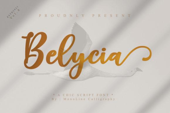 Belycia Script Font