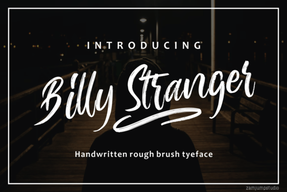 Billy Stranger Font