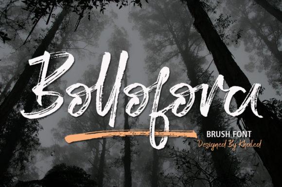 Bollofora Font