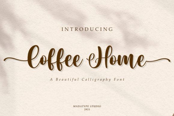 Coffee Home Font