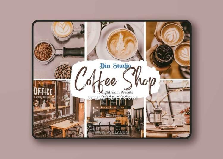 CreativeMarket - 10 Coffee Shop Lightroom Presets 6529502