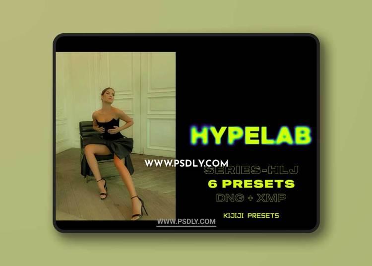 CreativeMarket - HYPELAB-HLJ Series Lightroom Presets 6514233