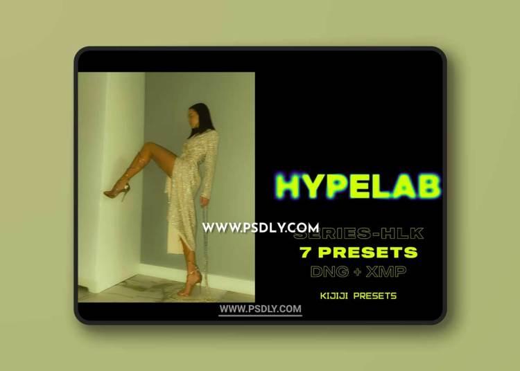 CreativeMarket - HYPELAB-HLK Series Lightroom Presets 6514236