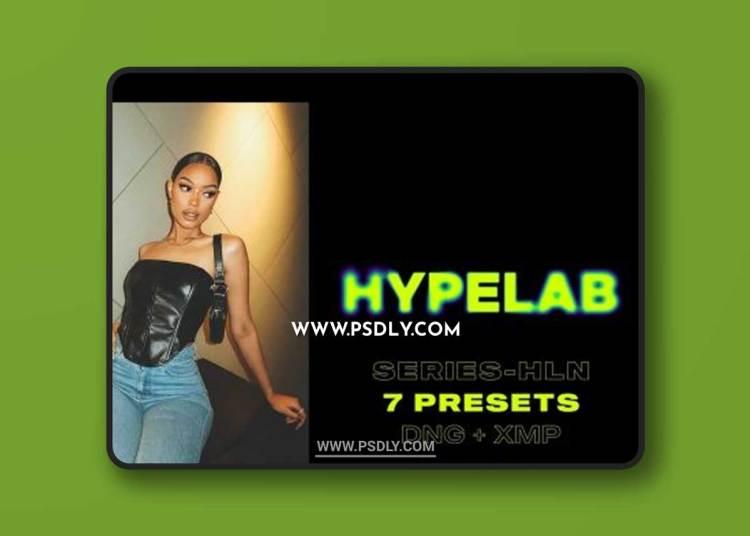 CreativeMarket - HYPELAB-HLN Series Lightroom Presets 6516682