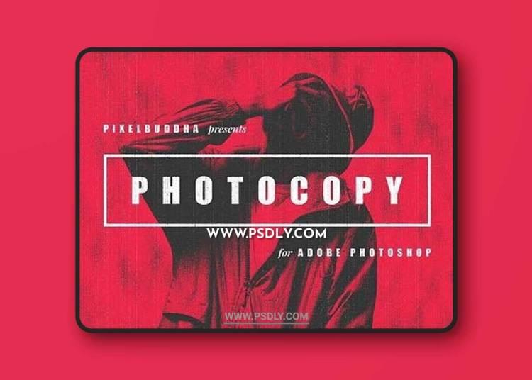 CreativeMarket - Retro Photocopy Effect 5656322