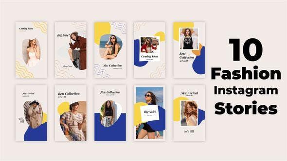 Videohive Fashion Instagram Stories 34117888
