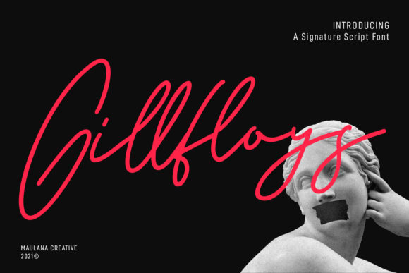 Gillfloys Font