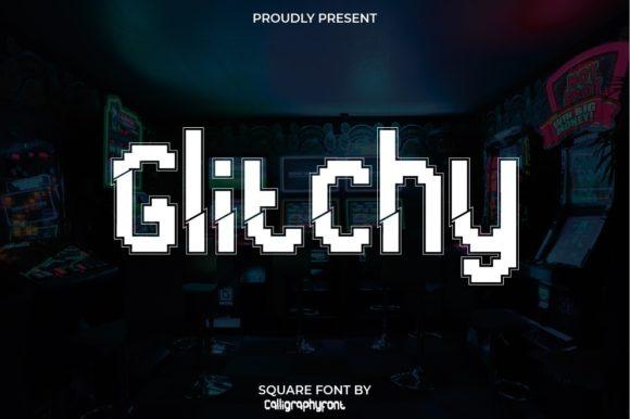 Glitchy Font
