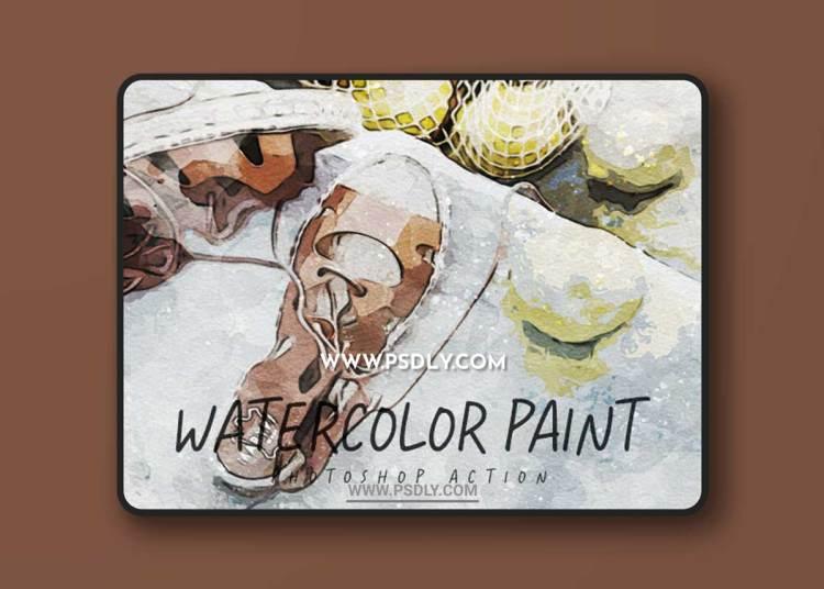 GraphicRiver - Watercolor Paint - Photoshop Action 33287400