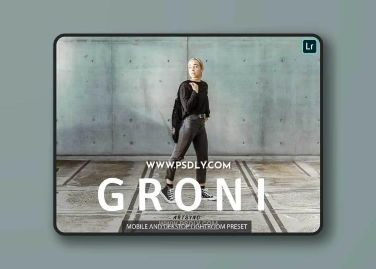 Groni Lightroom Presets Dekstop and Mobile