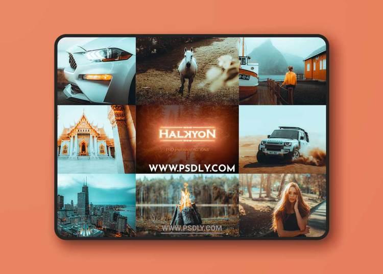 Halkyon Premium Photoshop Actions Collection